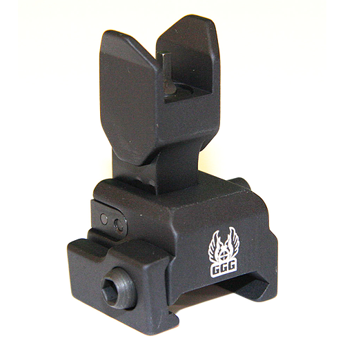 GG&G Spring Activated Flip Up Front Sight