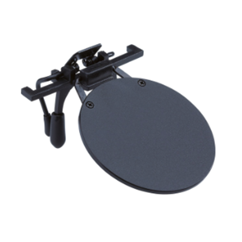 Gehmann  Black Clip-On Eyeshield for Ordinary Glasses