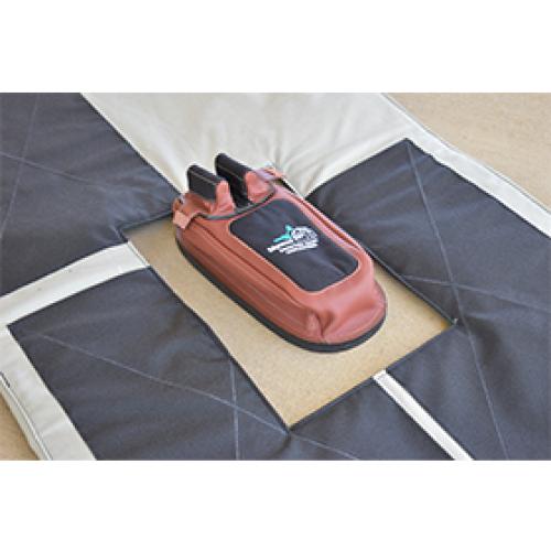Creedmoor Prone Mat Rear Bag Cut Out