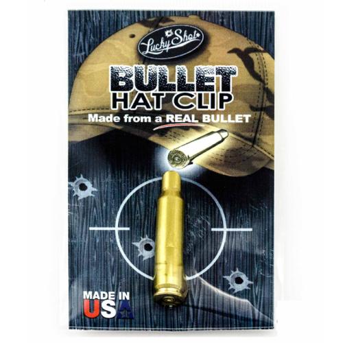 Lucky Shot .308 Bullet Hat Clip