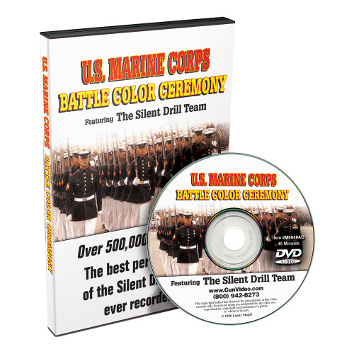 U.S. MARINE CORPS BATTLE COLOR CEREMONY