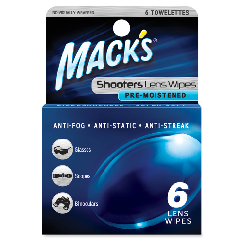 Mack's Shooters Lens Wipes (6pk)