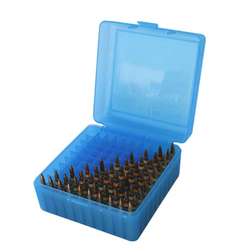 MTM Ammo Box 100 Round Flip-Top 22-250 243 220 Swift