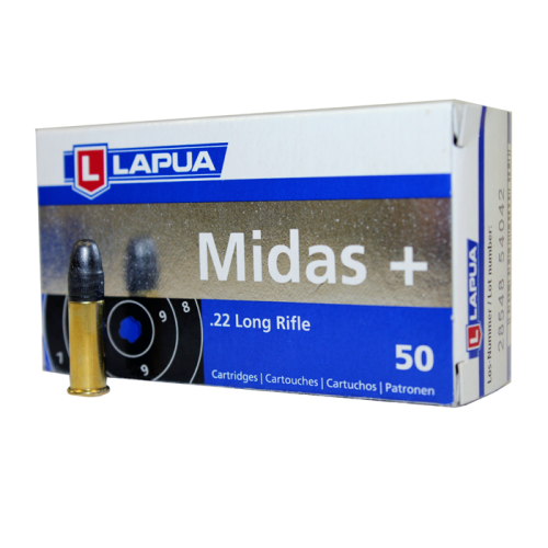 Lapua Midas Plus .22 LR Ammunition