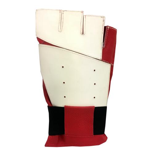 Creedmoor Half Finger Red/White Precision Glove