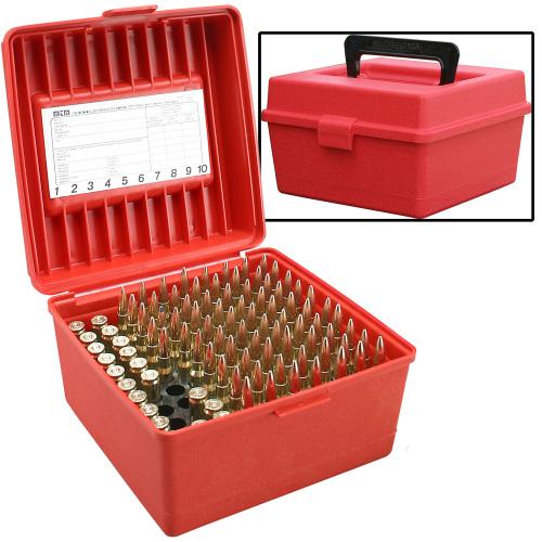 MTM Handled 100 Rd Rifle Ammo Box