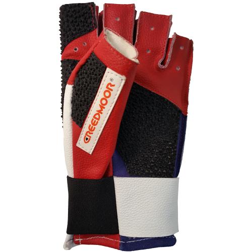 Creedmoor Half Finger Red/White/Blue Glove