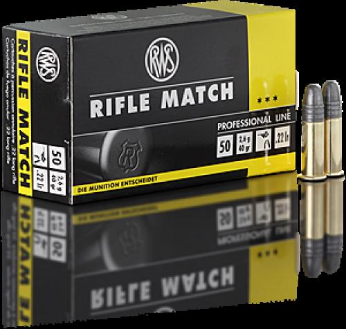 RWS .22 LR Rifle Match Ammunition