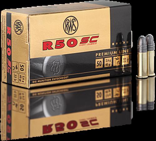 RWS .22 LR R50 SC Ammunition