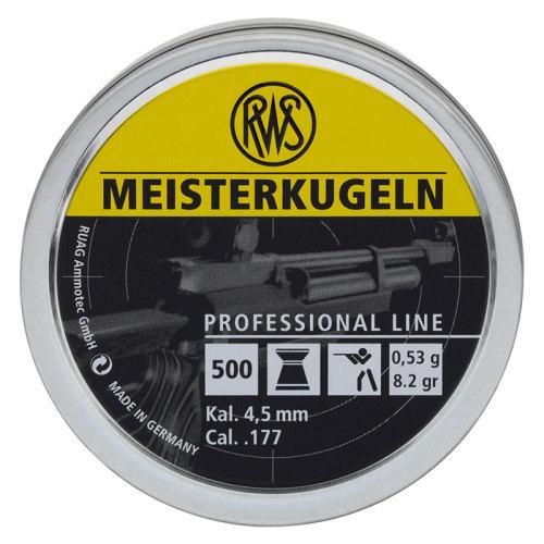 RWS Meisterkugeln Pellets 53g 4.50mm .177