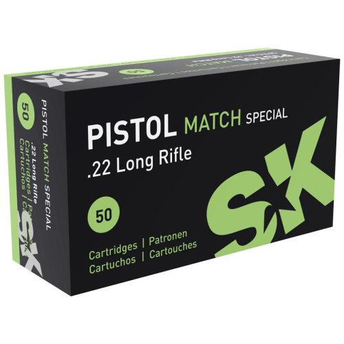 SK Pistol Match Special .22 LR Ammunition
