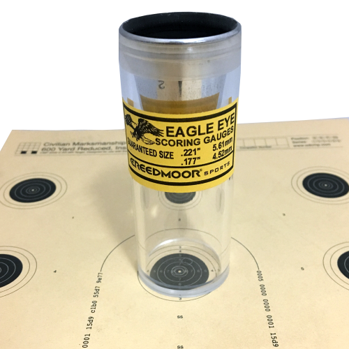 .22/ .177 Eagle Eye Precision Target Scoring Gauge