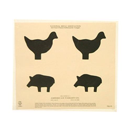 50 Ft Silhouette (chicken & Pig)