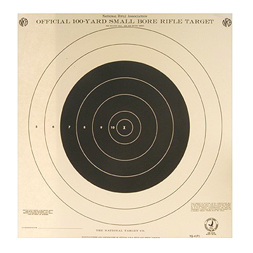 100yd Rifle 1 Bull Tq-4p