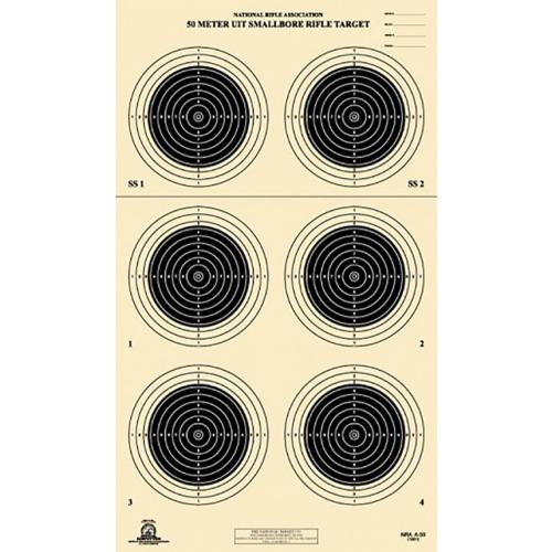 50m Smallbore Target