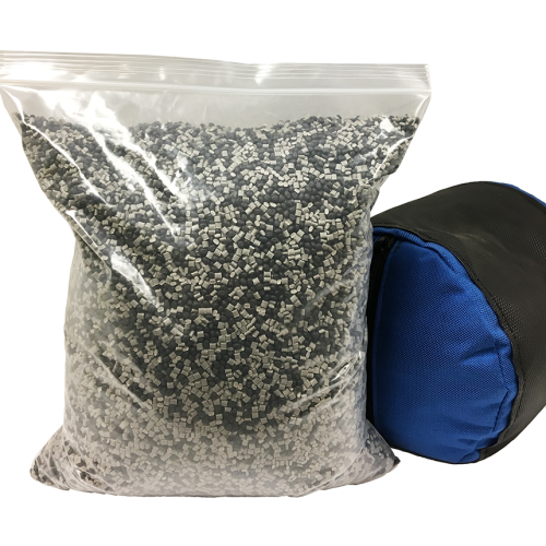 Plastic Pellets For Kneeling Roll