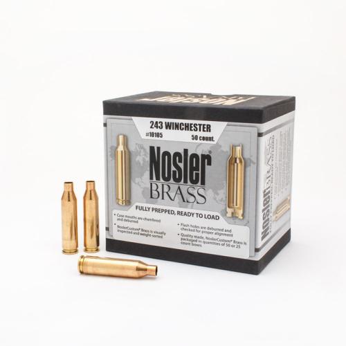 Nosler Brass 243 Winchester (50 Ct)