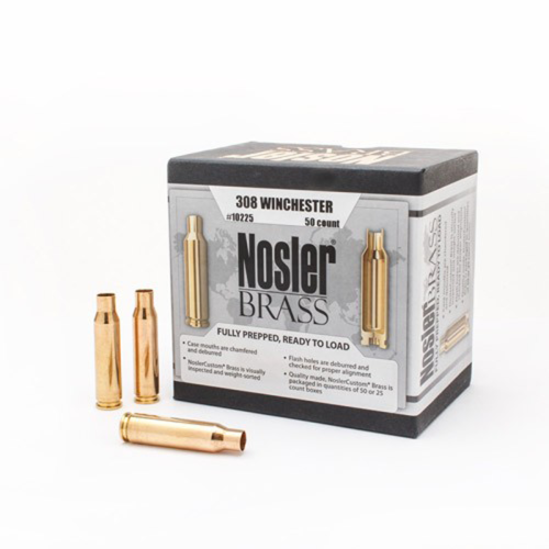 Nosler Brass 308 Winchester (50 Ct)
