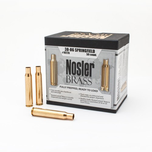 Nosler Brass 30-06 Springfield (50 Ct)