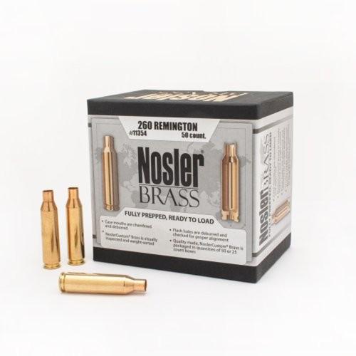 Nosler Brass 260 Remington (50 Ct)