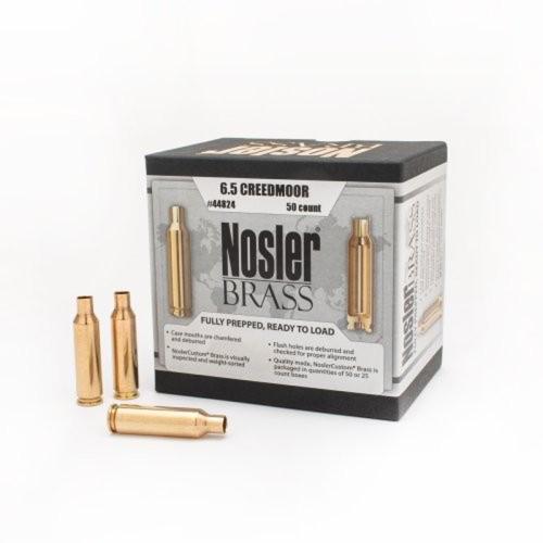 Nosler Brass 6.5 Creedmoor (50 Ct)