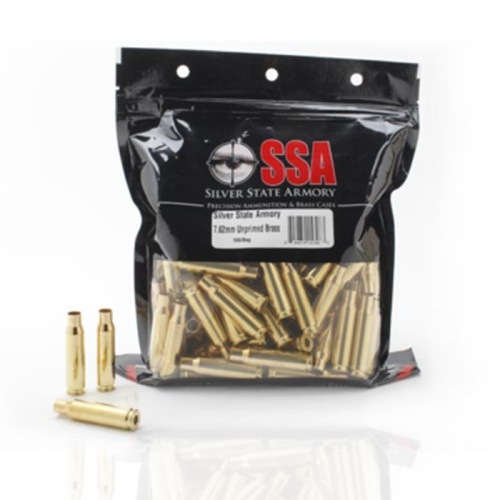 Nosler Brass SSA 5.56mm Rem Unprimed (100 Ct)