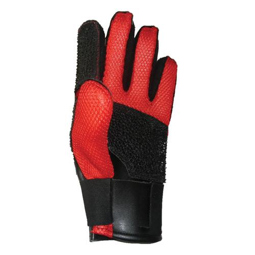 Creedmoor Red Mesh Full Finger Shooting Glove