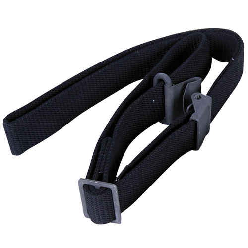 Black Military Cotton Web Sling