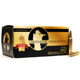 Creedmoor .223 68 Gr Hpbt Ammunition In Creedmoor Brass