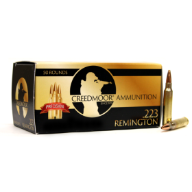 BLEMISHED CREEDMOOR .223 75 GR HPBT AMMUNITION IN CREEDMOOR