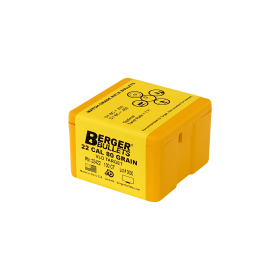 Berger  22 Cal 80 Gr VLD Bullets (100 Ct)