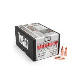 Nosler 22 Cal 55 Gr Ballistic Tip Bullet (250 Ct)