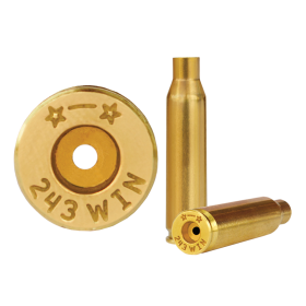Starline 243 Win Brass Cases