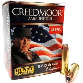 Creedmoor .38 Spec 125 Gr HP/XTP Pistol Ammo
