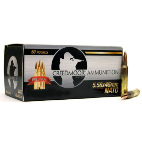 Creedmoor 5.56 NATO 75 Gr HPBT Ammunition In LC Brass