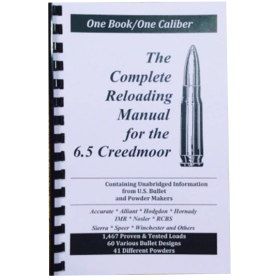 The Complete Reloading Manual for 6.5 Creedmoor