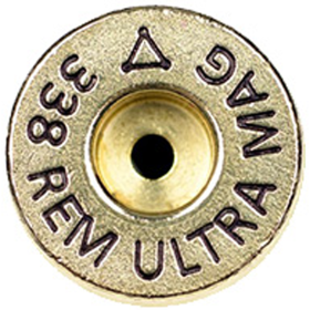ADG 338 Remington Ultra Mag Brass