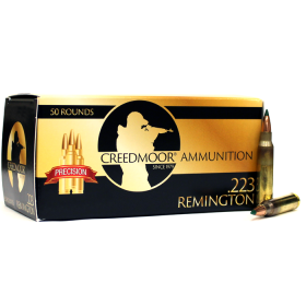 Creedmoor .223 69 Gr TMK Ammunition In Creedmoor Brass
