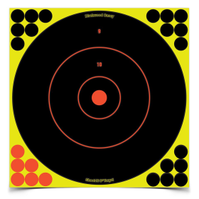 "B/C SHOOT-N-C 12"" BULLS-EYE TARGET"