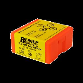 Berger Bullet 6.5mm 140 Gr Elite Hunter