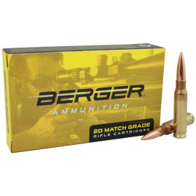 Berger Ammunition 308 Winchester 185gr Juggernaut Target