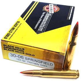 Ammo Black Hills 30-06 150 Gr Hornady GMX