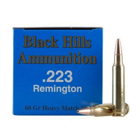Black Hills Ammo .223 68 Gr. Reman