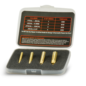 Bullet Knock-Out Set (.17 Cal - .50 Cal)