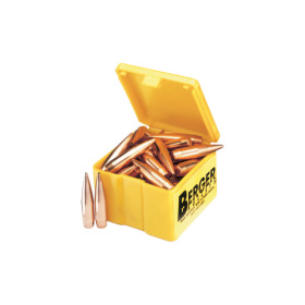 Berger 6mm 105 Gr VLD Match Target Bullets (500 Ct)