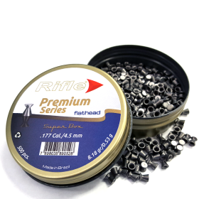 RIFLE PREMIUM SERIES .177 53G PELLETS