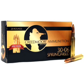 CREEDMOOR .30-06 167 GR AMMUNITION IN LAPUA BRASS