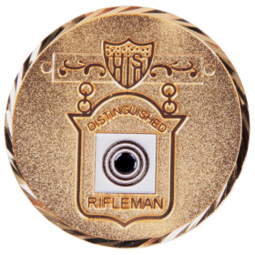 DISTINGUISHED RIFLEMAN CHALLENGE COIN