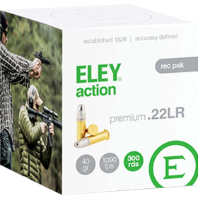 ELEY ACTION REC PACK 22LR AMMUNITION