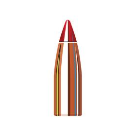 Hornady V-max 17 Cal 20 Gr Flat Base Bullets (100 Ct)